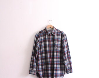 Classic Plaid 70s Pendleton Wool Shirt