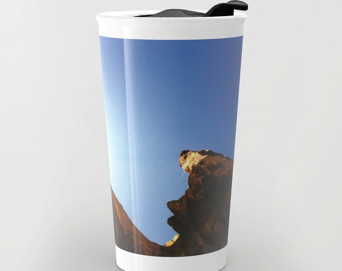 Travel Mug - Nature Photo Travel Mug - Smith Rock Oregon Photo - Coffee Travel Mug - Hot or Cold Travel Mug - 12oz Travel Mug -Made to Order