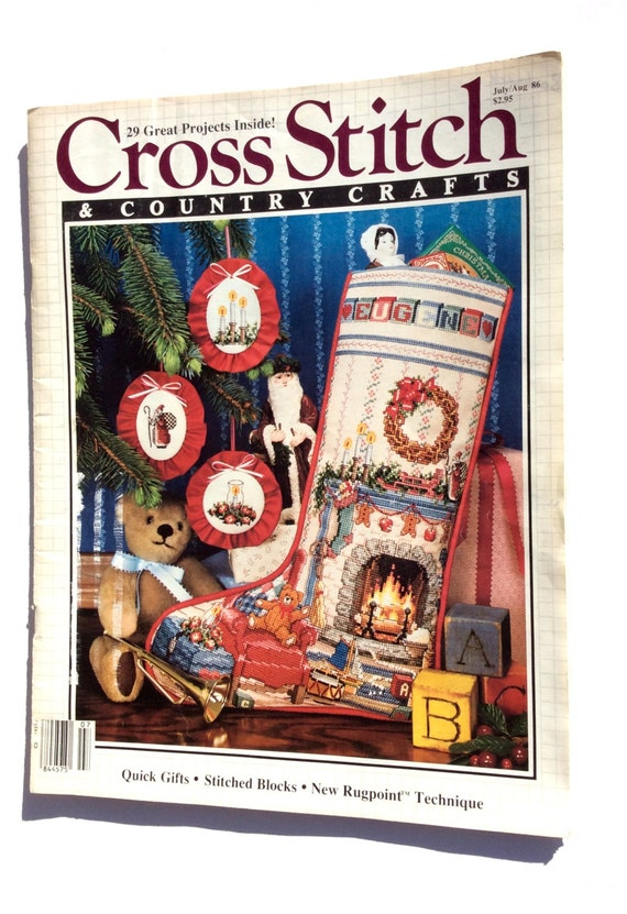 Cross Stitch Country Crafts Magazine Better Homes And