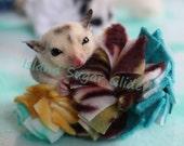 Sugar Glider Fleece Pom-Pom Toys