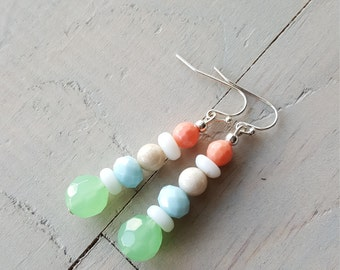 Beach Earrings, Beach Jewelry