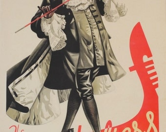 Vintage Advertising Poster - The Gondoliers