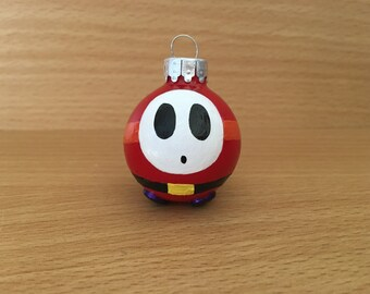 Mario Shy Guy Ornament