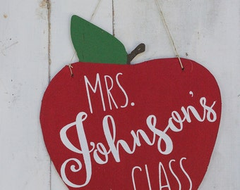 teacher gift, personalized name sign, back to school gift, classroom gift