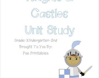 Knights & Castles Unit Study [Personal Use]