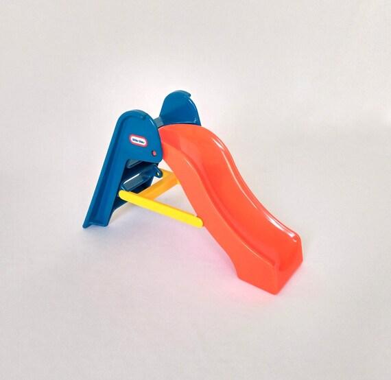 Little Tikes Orange Slides : Little tikes dollhouse slide doll house size plastic
