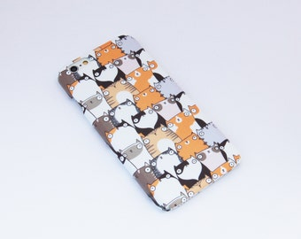 Staring Cats Patterned iPhone 6 Case