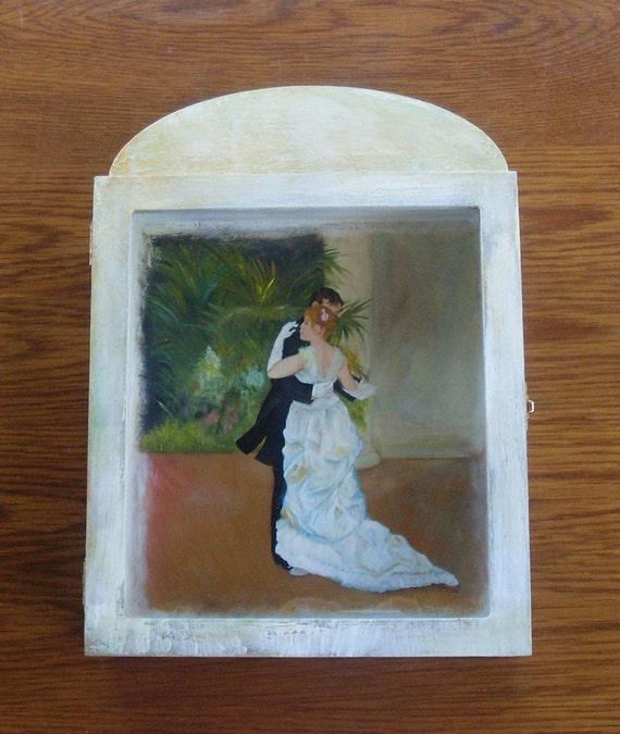 Wedding Crown Display Box - Stefanothiki - Dancing Couple