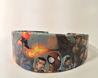 Fantastic Four and Black Cat Comic Book Headband