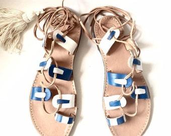 gladiator cord sandals