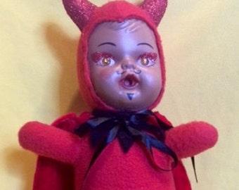 Devil Plush Toy Etsy