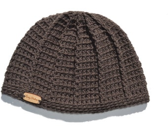 Mens Crochet Hat, Knit Mens Hat, Spiderweb Beanie, Mens Beanie, Gray Hat, Teen Boys Had, Slouch Hat, Boys Hat, Kids Spiderweb Hat, Baby Boys