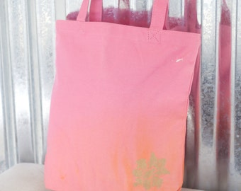 SALE* 100% Light Pink Cotton Tote/ Canvas Bag/ Reusable Bag/ Tote/ Cotton Bag/ Market Bag/Shopping Bag