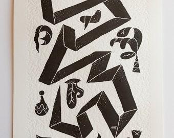 Paper Snake x Tyler Keeton Robbins