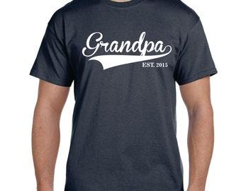 Personalized Grandpa Gift Grandpa Shirt Grandpa tshirt Gift For Grandfather Granddad Gift For Grandparent Pawpaw Gifts Fathers Day Gift