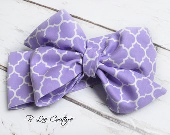 Molly Headwrap - Bow Headwrap -  Head Wrap - Baby Headwrap - Molly Hair Bow