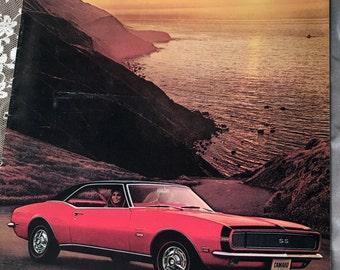 1968 Camaro Sales Brochure