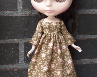 Dress and underskirt for Neo Blythe dolls.