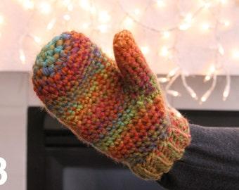 Crochet Soft Mittens - FREE SHIPPING