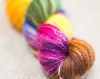 Rusty Rainbows - 2 Ply Sock Yarn