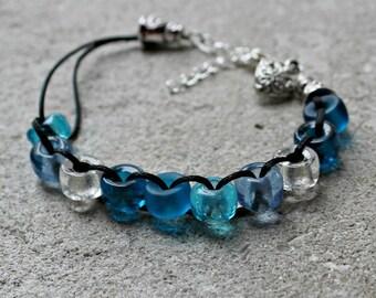 Parting of the Sea Catholic Christian Prayer Bracelet Movable Good Deed Beads