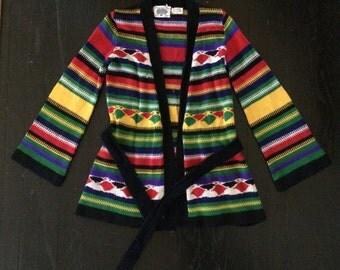 Vintage Bell Sleeved Sweater Cardigan// Arpeja Organically Grown