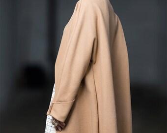 Oversize coat,Cashmere coat, winter coat,Statement coat,Minimal cashmere coat,cashemere sweater,street style, Rote Tulpe coat, Camel coat