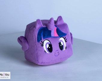 Twilight Sparkle Plush Cube MLP