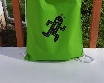 Cactaur Draw String Bag