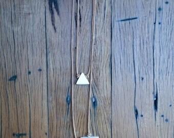 Twin Peaks (featuring Single Peak necklace)