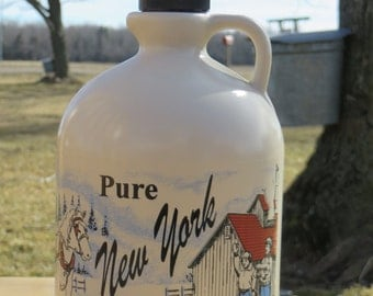 Pure Maple Syrup, New York Maple Syrup, half gallon syrup, maple syrup, natural sweetener, pancake syrup, breakfast syrup, natural
