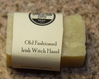 Homemade Soap - Old Fashioned Irish Witch Hazel Handmade Soap