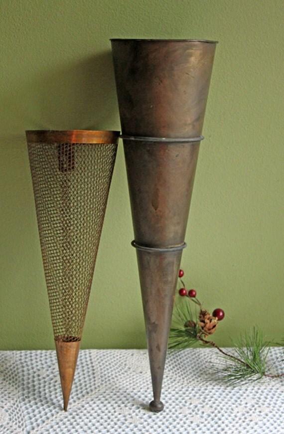 Metal Vase Tall Metal Vases For Wall Hanging Vintage Rustic