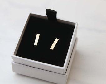 Simple Bar Earrings
