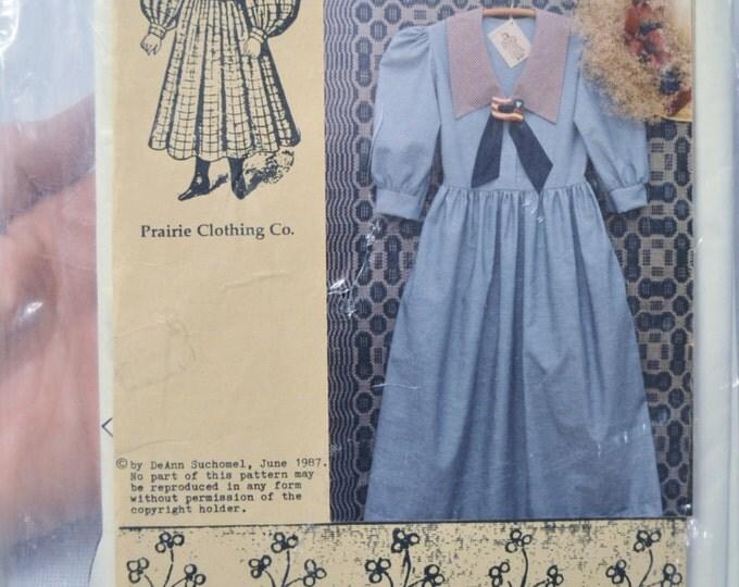 Prairie Dress Deann Suchomel Misses Dress Period Clothing Costume Sewing Vintage Pattern PanchosPorch