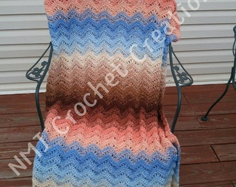 Crochet afghan, crochet blanket, crochet throw,