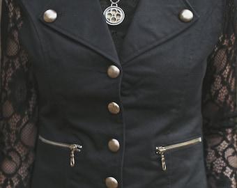 Women's Gothic Military Waistcoat