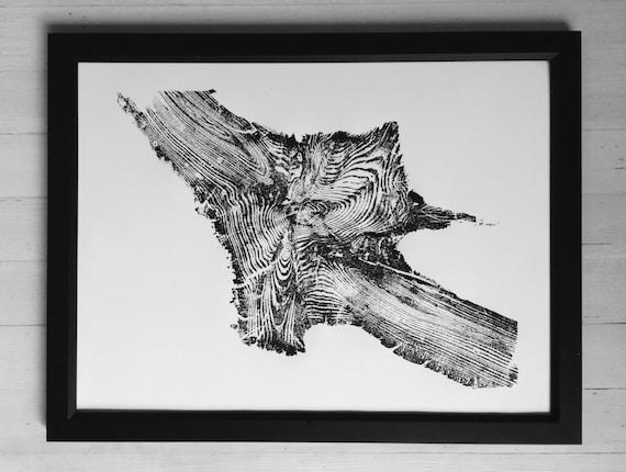 Yellowstone roots, Tree Rings Print, tree Roots wall art, Christmas Tree art, Natural Art gifts, holiday art decor, Arborist art gifts