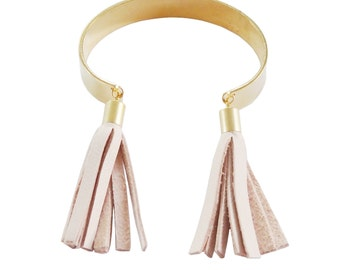 Leather Tassel Cuff; Fringe Cuff; Leather Fringe; Cuff Bracelet; Tassel Bracelet; Fringe Bracelet; Leather Bracelet