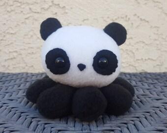 Panda Octopus Plush - Made to Order