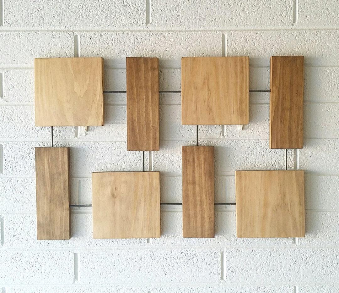 lee wall sculpture wood wall art krasner mid century. Black Bedroom Furniture Sets. Home Design Ideas
