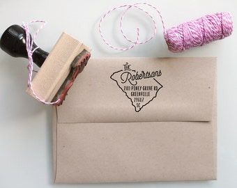Custom stamps and stationery for you by mysplendidsummer on etsy - Return gifts for housewarming party ...