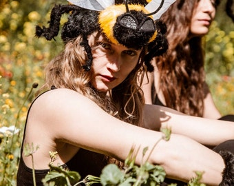 bee headdress - hat costume