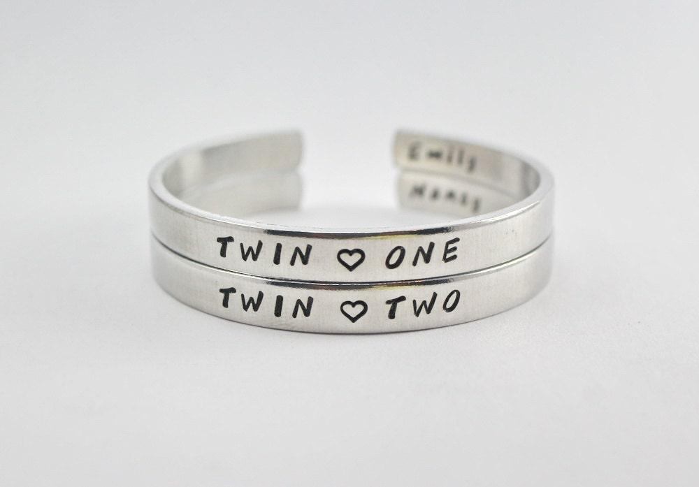 Twins Bangle Bracelet Set