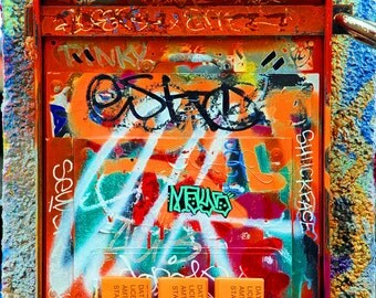 Here I Go Again Dreamin, Graffiti, Urban Art, Street Art, City Art, Street Photography