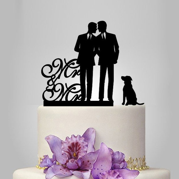 gay wedding cake toppers wedding cake topper with same wedding by 14662