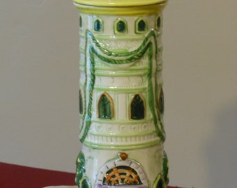 Vintage Cottage Pasta Tower with Lid