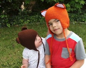 Little Bushy Tail Fox Hat