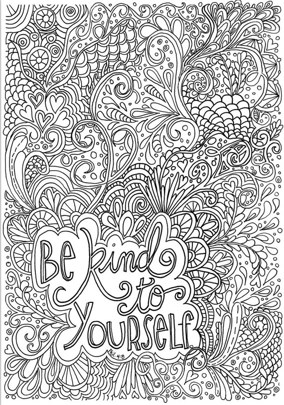 be kind coloring pages - photo#9