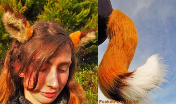 how to make a realistic fox tail